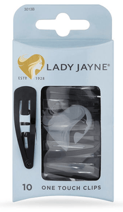 McPhersons - Lady Jayne One Touch Clips Black
