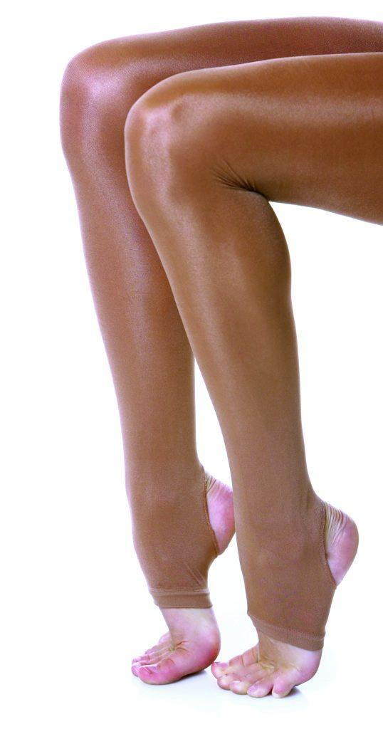 Studio 7 - Adult Stirrup Shimmer TightsDancewearadult-smallShimmer Tan