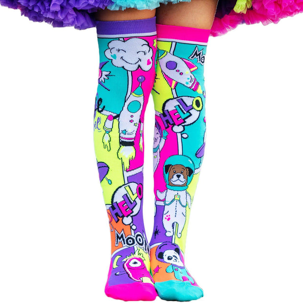MadMia - SPACE TRAVEL SOCKS - Dancewear Crazy Socks