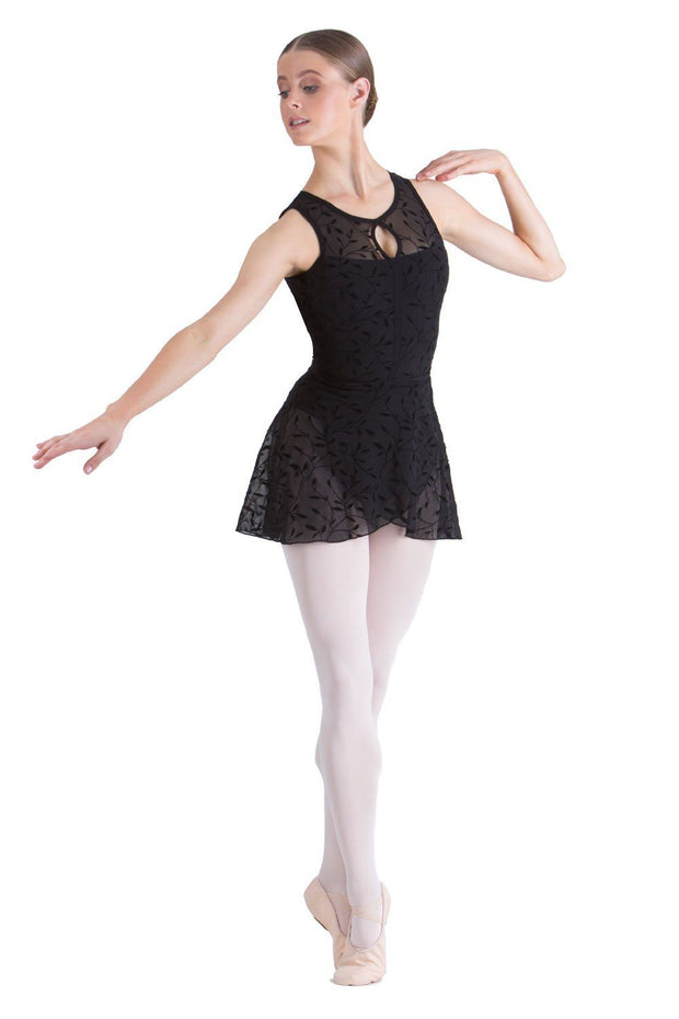 Studio 7 - Alexa Wrap Skirt ( Child )DancewearChild SmallBlack