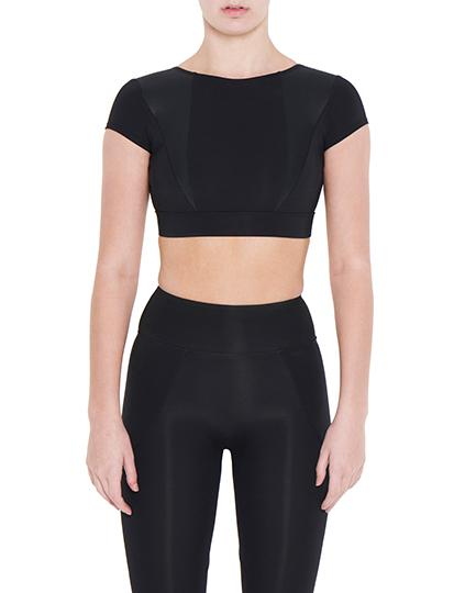 Viella Dance Collection - Arabella Crop Top (Womens)DancewearAdult 6Black