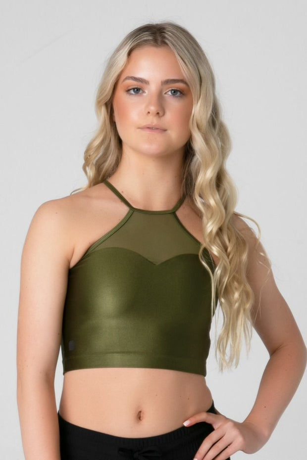 Sylvia P - Desert Oasis Arizona Cropped Singlet Dancewear Aspire Dance Collections