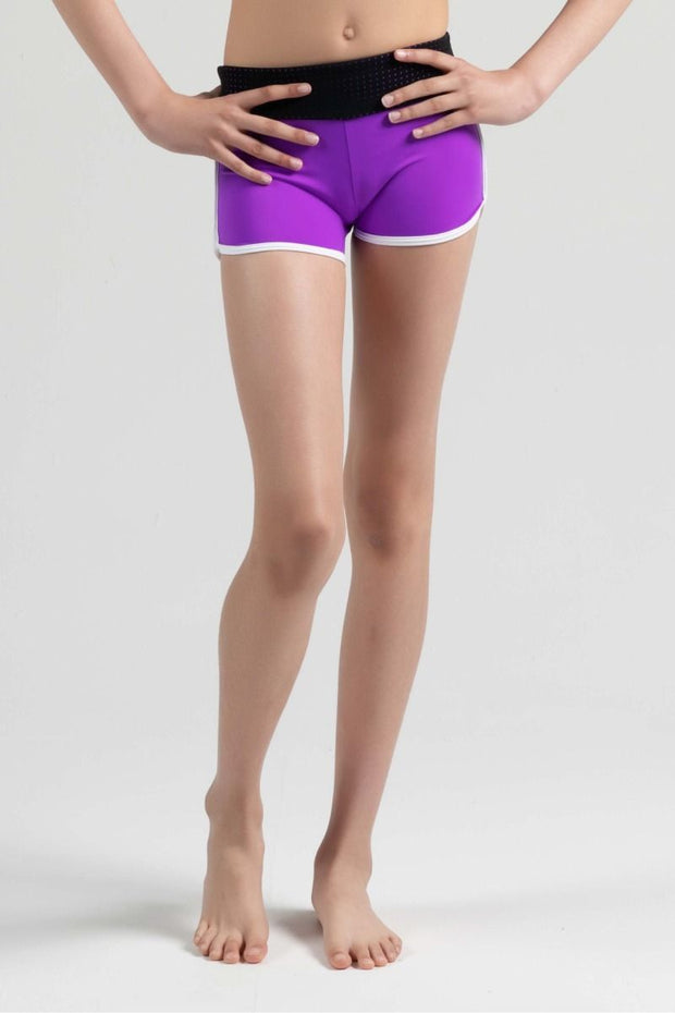 Sylvia P - Game On Baseline Active Short Dancewear Aspire Dance Collections