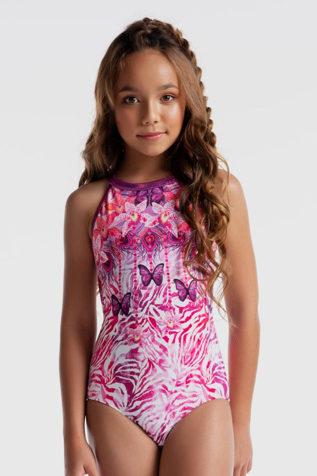 Sylvia P - Wild Side Butterfly Magic Leotard Aspire Dance Collections