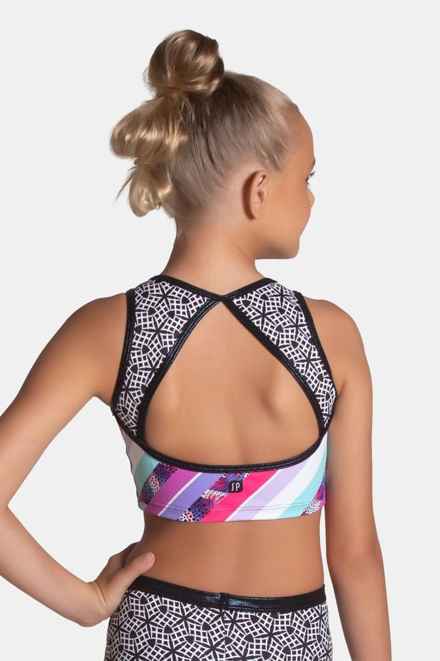 Sylvia P - Candy Cropped Singlet Dancewear