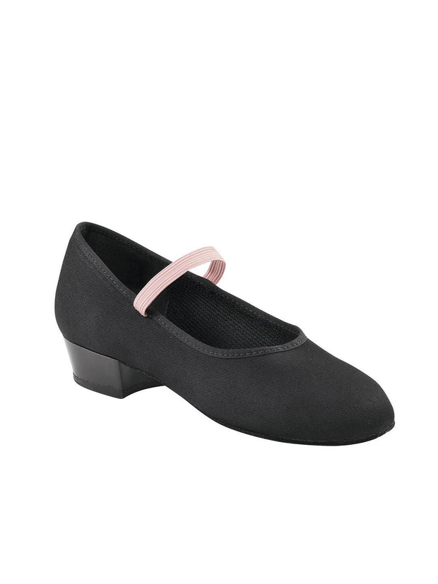 Capezio -  Academy Character w/ Black Sole - Child Dance Shoes