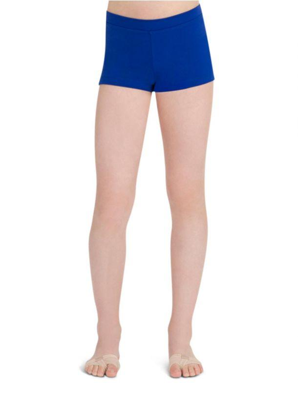 Capezio -  Boys Cut Low Rise Short - Girls (Royal) Dancewear Aspire Dance Collections