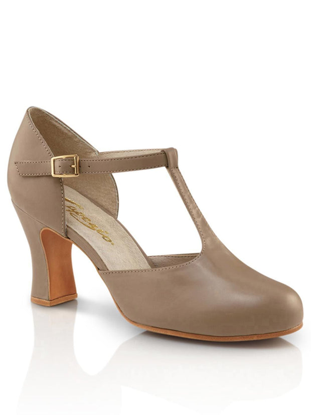 Capezio -  Closed Toe T-Strap Character Shoe