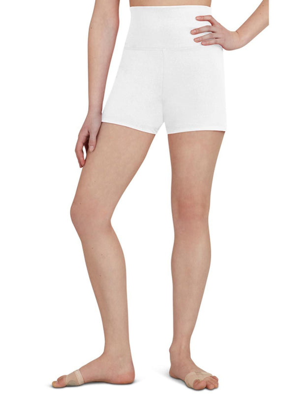Capezio -  High Waisted Shorts Dancewear Aspire Dance Collections