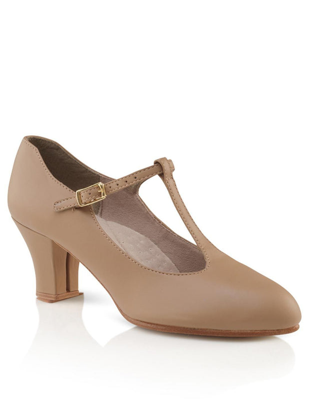 Capezio -  Jr. Footlight T-Strap Character Shoe