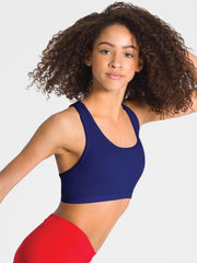 Capezio -  Racerback Bra Top Dancewear Aspire Dance Collections
