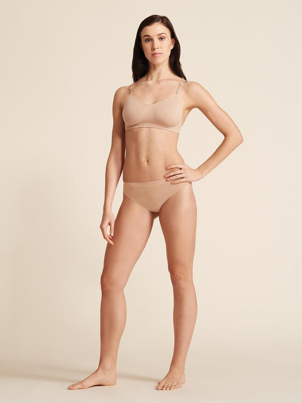 Capezio -  Seamless Low Rise Thong Dancewear Aspire Dance Collections