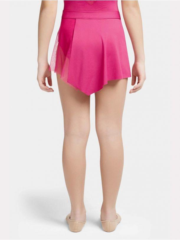 Capezio -  Skylight Breeze Asymetrical Pull On Skirt - Girls