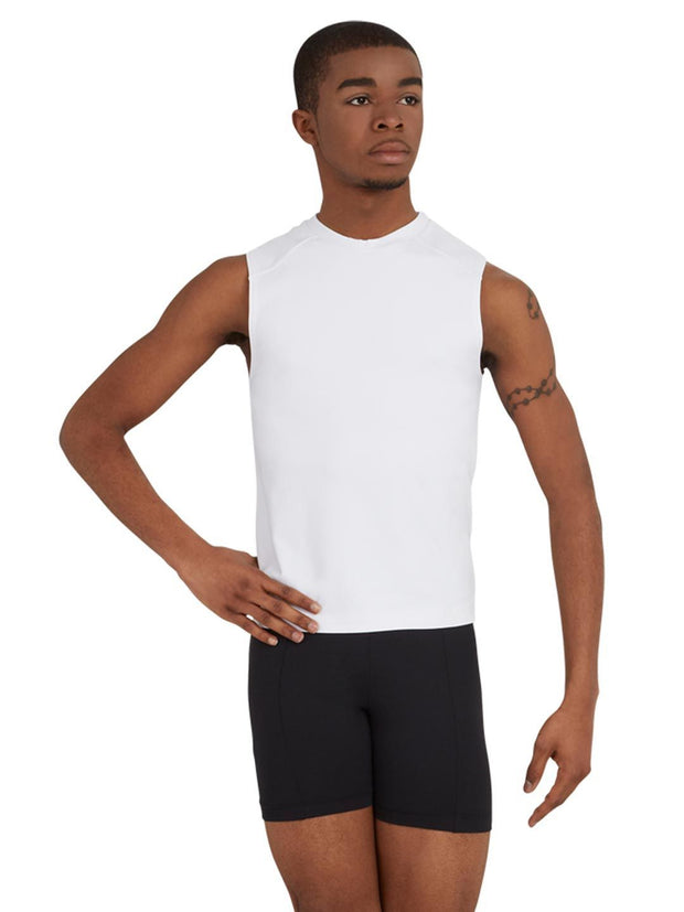 Capezio -  Sleeveless Fitted Muscle Tee Dancewear Aspire Dance Collections