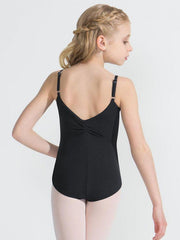 Capezio -  Tactel Pinch Front Leotard - Girls Dancewear Aspire Dance Collections