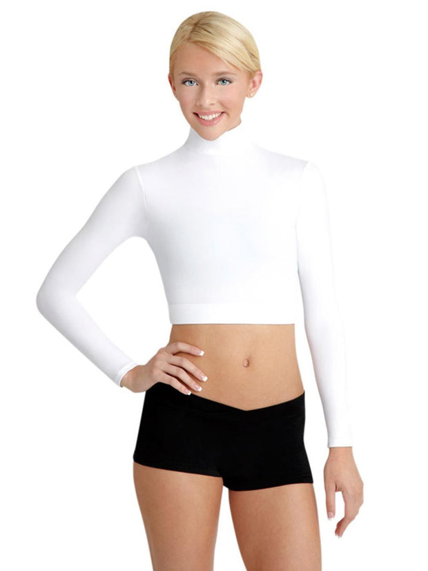 Capezio -  Turtleneck Long Sleeve Top