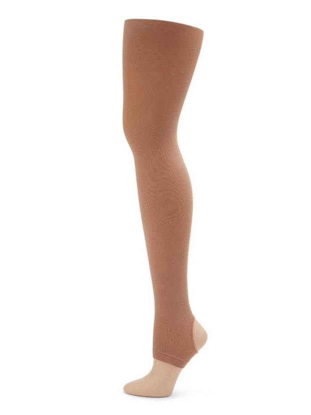 Capezio -  Ultra Soft Self Knit Waistband Stirrup Tight - Girls Dancewear Aspire Dance Collections