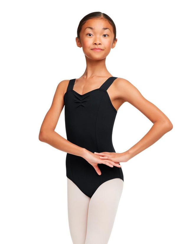 Capezio -  Wide Strap Leotard - Girls Dancewear Aspire Dance Collections