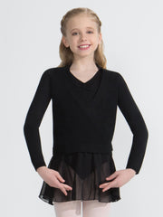 Capezio -  Wrap Sweater - Girls Dancewear Aspire Dance Collections