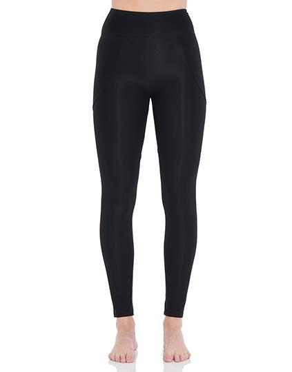 Viella Dance Collection - Chariot High Waisted Leggings ( Womens )DancewearAdult 6Black