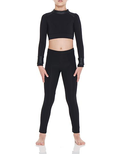 Viella Dance Collection - Chariot Leggings ( Girls )DancewearChild X-SmallBlack