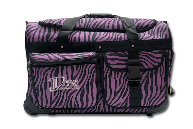 Dream Duffel  - Large Zebra Package Bags Aspire Dance Collections