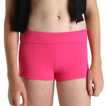 Bloch Roll Down Girls Short Dancewear