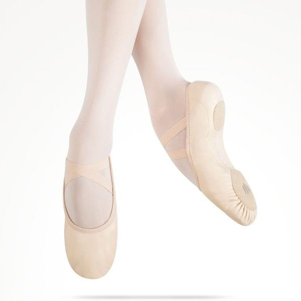 MDM - Elemental Leather Hybrid Sole Pink (Child Foot Type) Dance Shoes Aspire Dance Collections