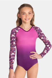 Sylvia P - Elva Long Sleeve Leotard Dancewear Aspire Dance Collections