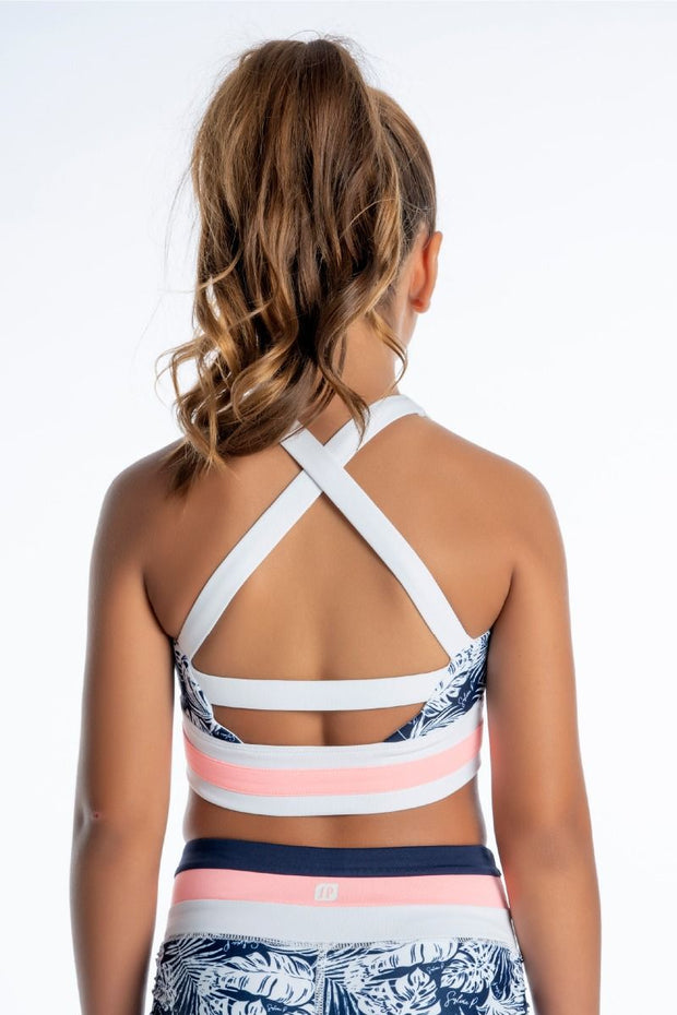 Sylvia P - Endless Summer Coco Loco Crop Top Dancewear Aspire Dance Collections