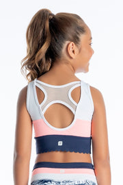 Sylvia P - Endless Summer Maui Cropped Singlet Dancewear Aspire Dance Collections