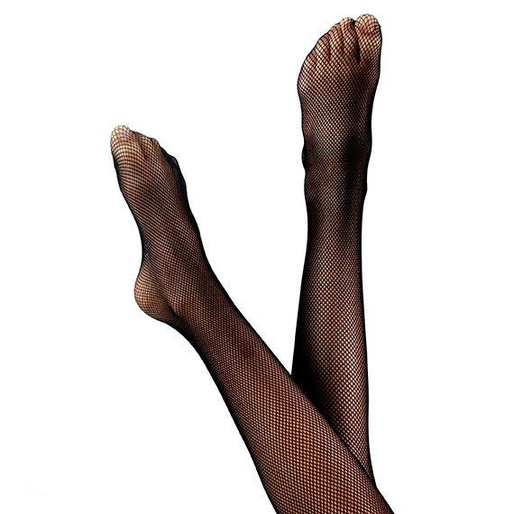 Fiesta Legwear - Footed Traditional Fishnets Dancewear