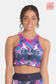 Sylvia P - Graceful Reversible Cropped Top Dancewear Aspire Dance Collections