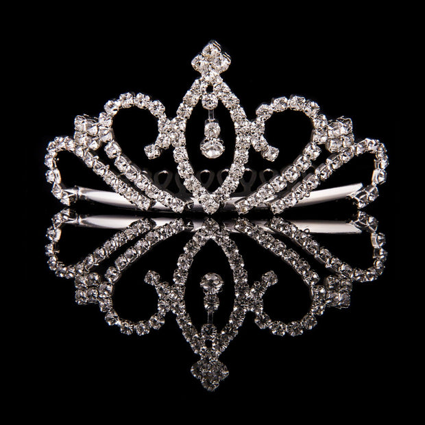 Mad Ally Small Crystal Tiara Tiaras