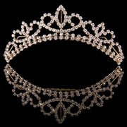 Mad Ally Medium Crystal Tiara Tiaras