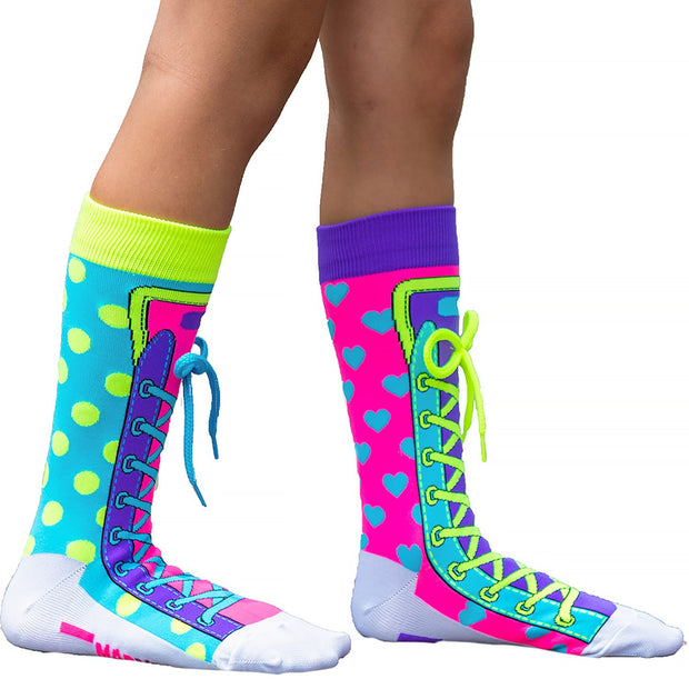 MadMia - Hi Tops Crew Socks Dancewear Crazy Socks