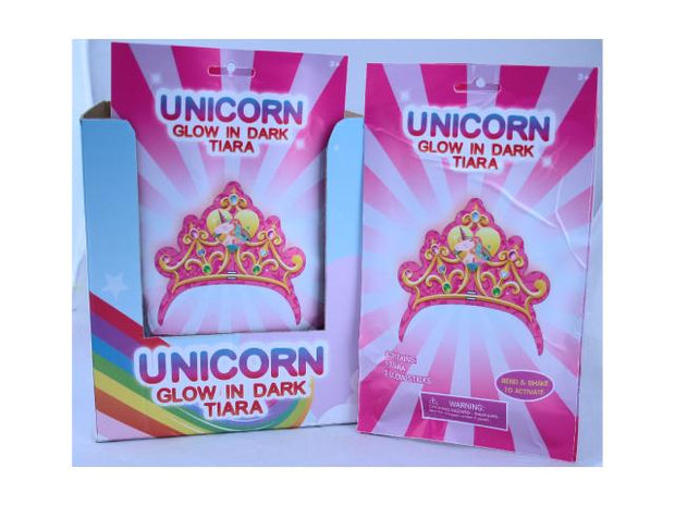 Jemark - UNICORN GLOW IN DARK TIARA Gifts