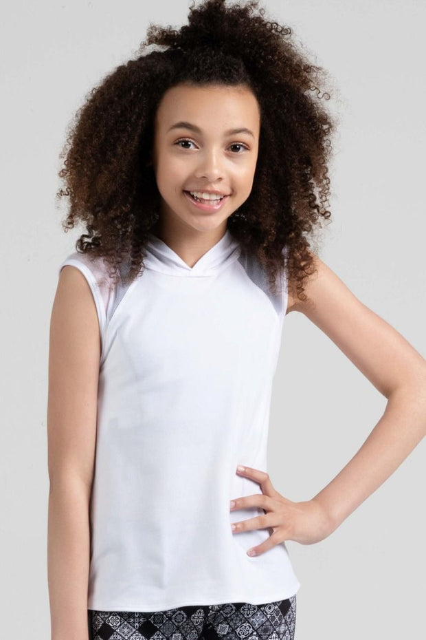 Sylvia P - Game On Inspire Hooded Singlet Dancewear Aspire Dance Collections