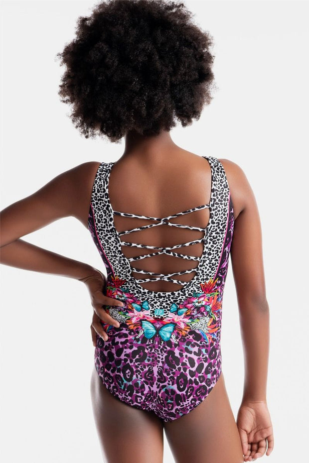 Sylvia P - Wild Side Instinct Leotard Aspire Dance Collections