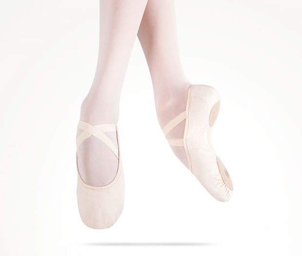 MDM - Intrinsic Canvas Hybrid Sole Pink (Mini Foot Type) Dance Shoes Dancewear Aspire Dance Collections