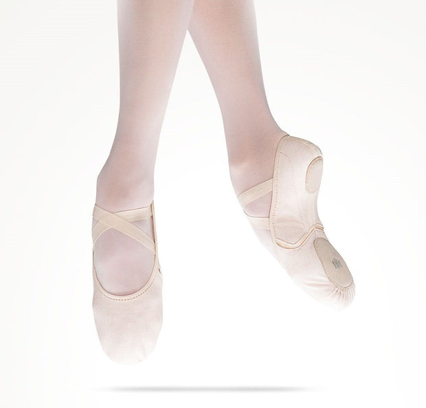 MDM - Intrinsic Reflex Canvas Hybrid Sole Pink ( Adult Foot Type ) Dance Shoes Dancewear Aspire Dance Collections