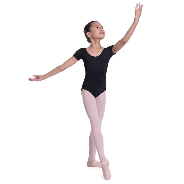Bloch Overture Olisia Short Sleeve Girls Leotard