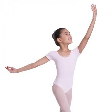 Bloch Overture Olisia Short Sleeve Girls Leotard Dancewear