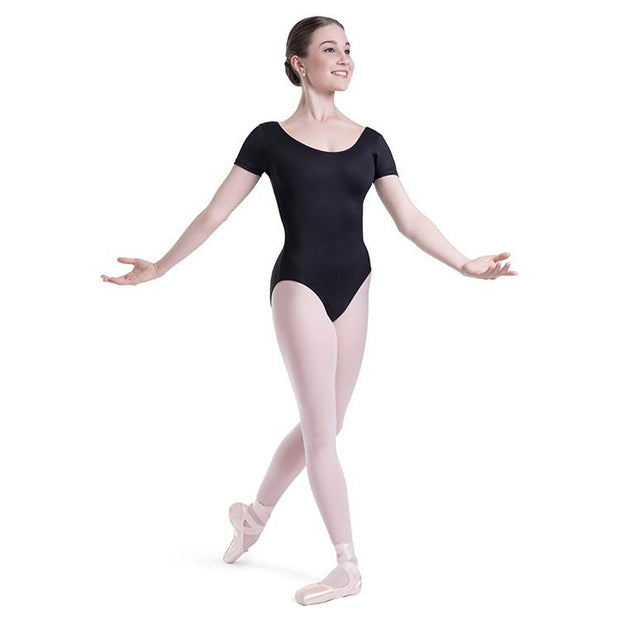Bloch Overture Olisia Short Sleeve Womens Leotard