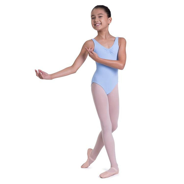 Bloch Overture Odetta Sleeveless Pleat Girls Leotard