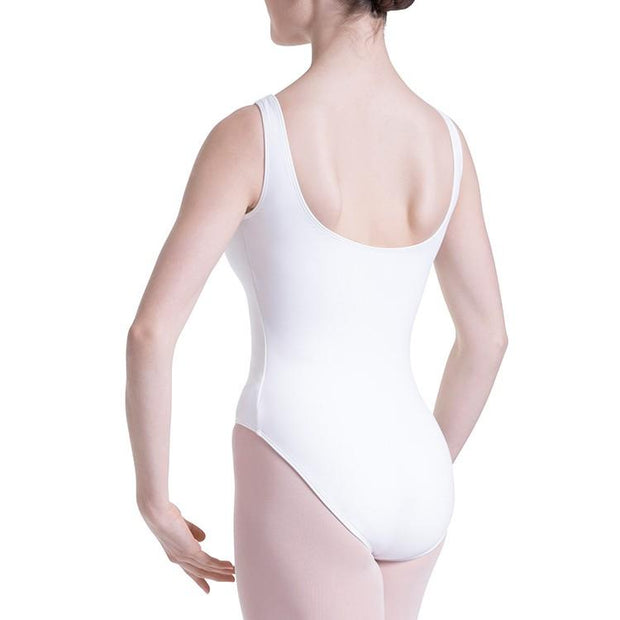 Bloch Overture Odetta Sleeveless Pleat Womens Leotard