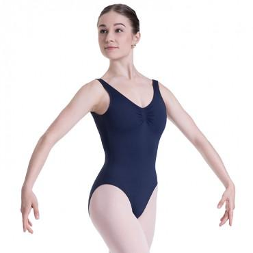 Bloch Overture Odetta Sleeveless Pleat Womens Leotard Dancewear
