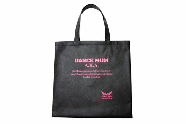 Dream Duffel - Mad Ally Non- Woven Tote Bag- Sparkle Bags Aspire Dance Collections