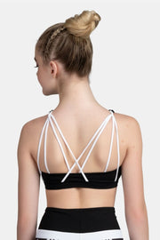Sylvia P - Moonscape Crop Top Dancewear