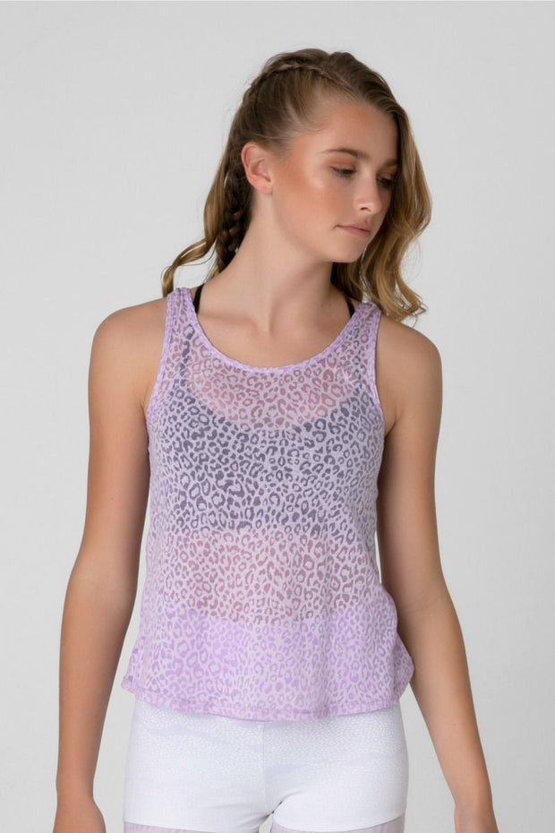 Sylvia P - Desert Oasis Orchid Twist Singlet Dancewear Aspire Dance Collections